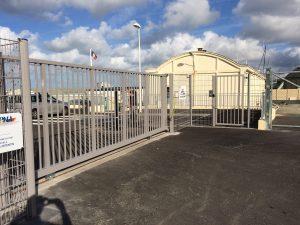 clôture en aluminium pour particuliers et professionnels de Normandie