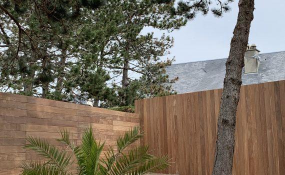 Installation de clôtures de jardin dans la Manche