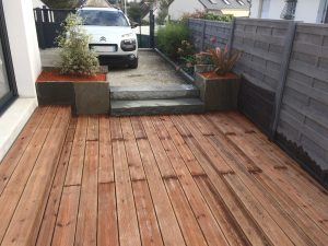 Terrasse en bois composite Manche